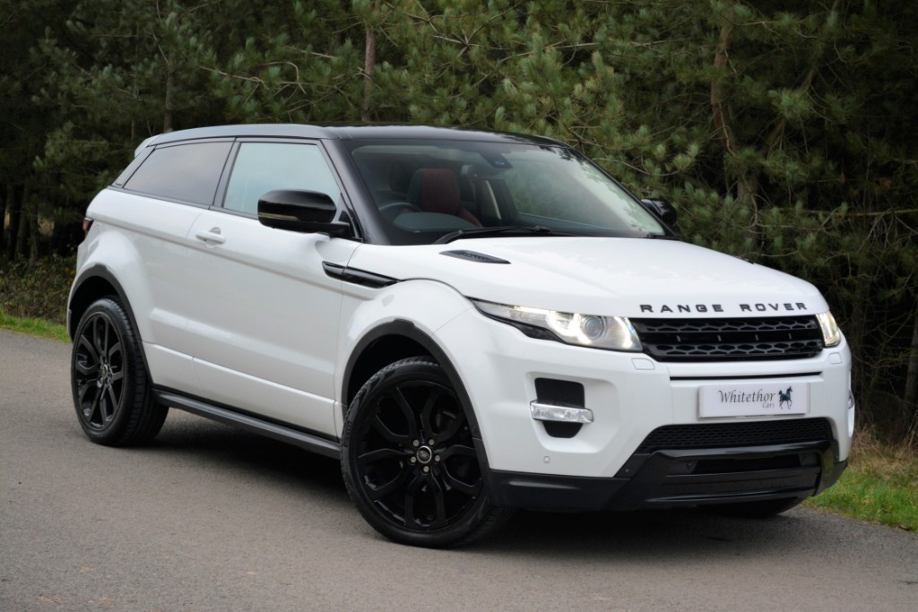 used Land Rover Range Rover Evoque SD4 DYNAMIC LUX in leicestershire