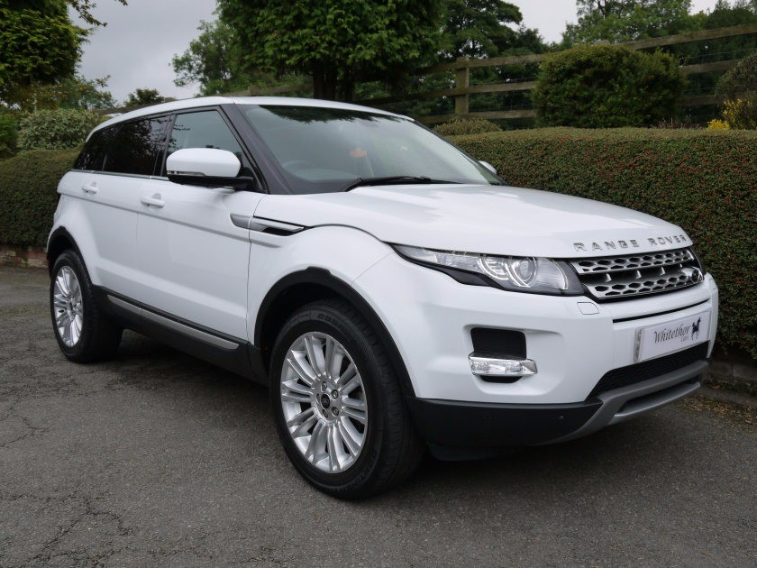 used Land Rover Range Rover Evoque SD4 PRESTIGE LUX in leicestershire