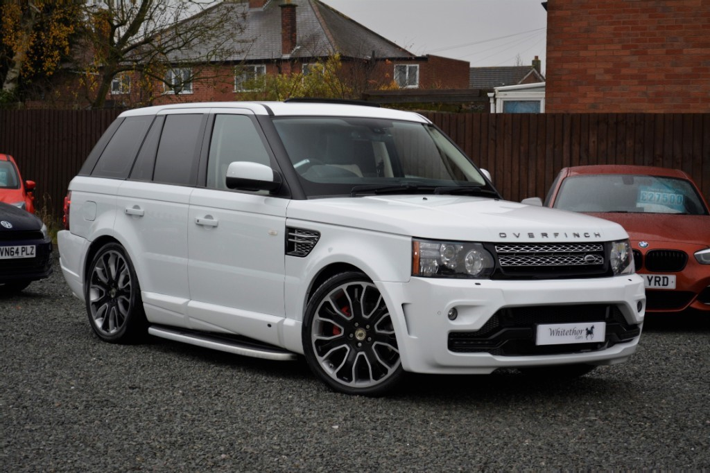 used Land Rover Range Rover Sport SDV6 HSE LUXURY in leicestershire