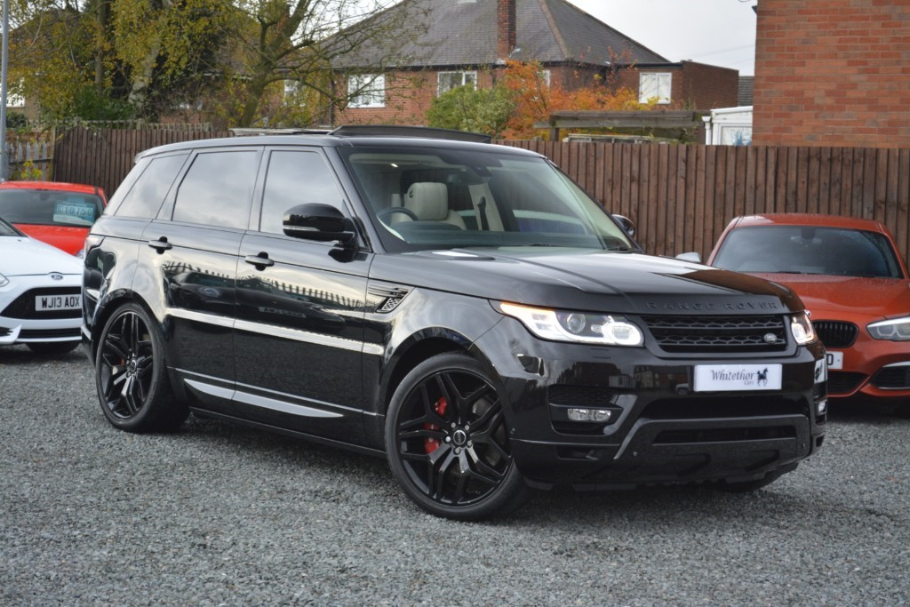 used Land Rover Range Rover Sport SDV8 AUTOBIOGRAPHY DYNAMIC in leicestershire