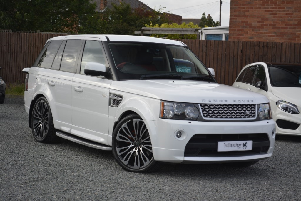 used Land Rover Range Rover Sport TDV6 AUTOBIOGRAPHY in leicestershire