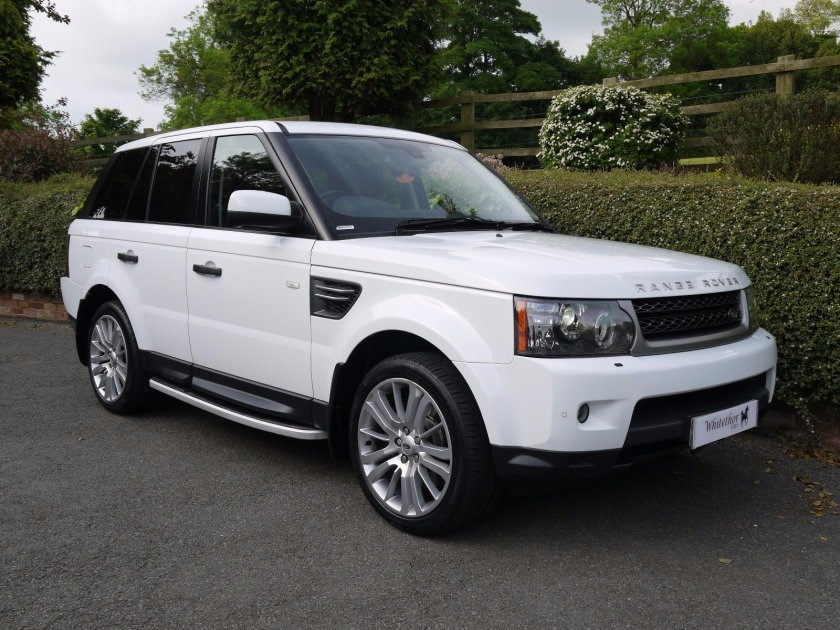 used Land Rover Range Rover Sport TDV6 HSE in leicestershire