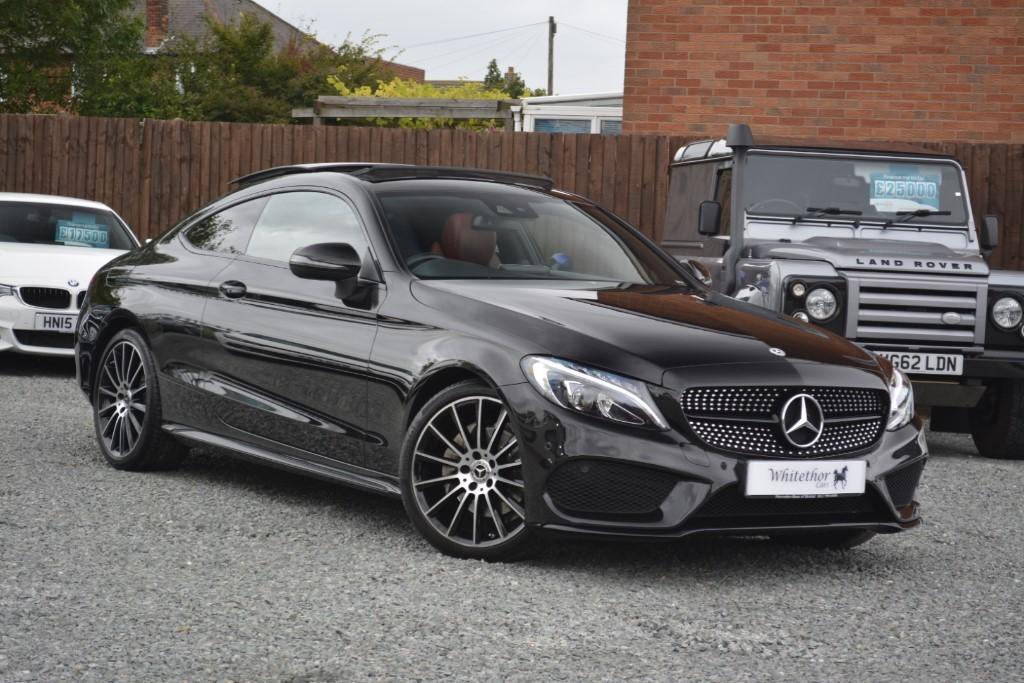 used Mercedes 220 C  D AMG LINE PREMIUM PLUS in leicestershire