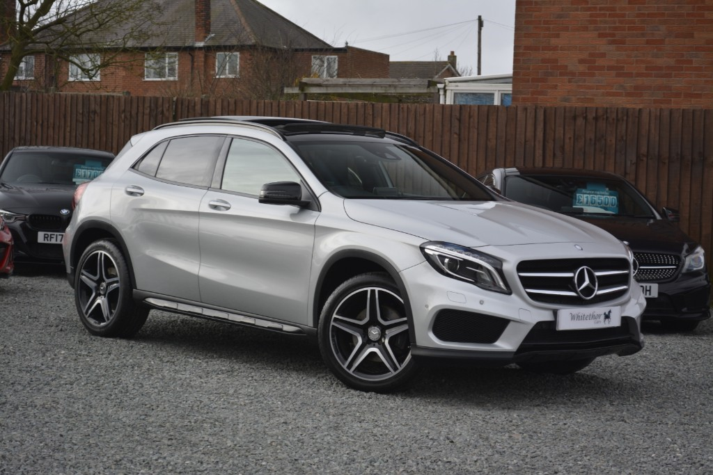 used Mercedes 220 GLA  D 4MATIC AMG LINE PREMIUM PLUS in leicestershire