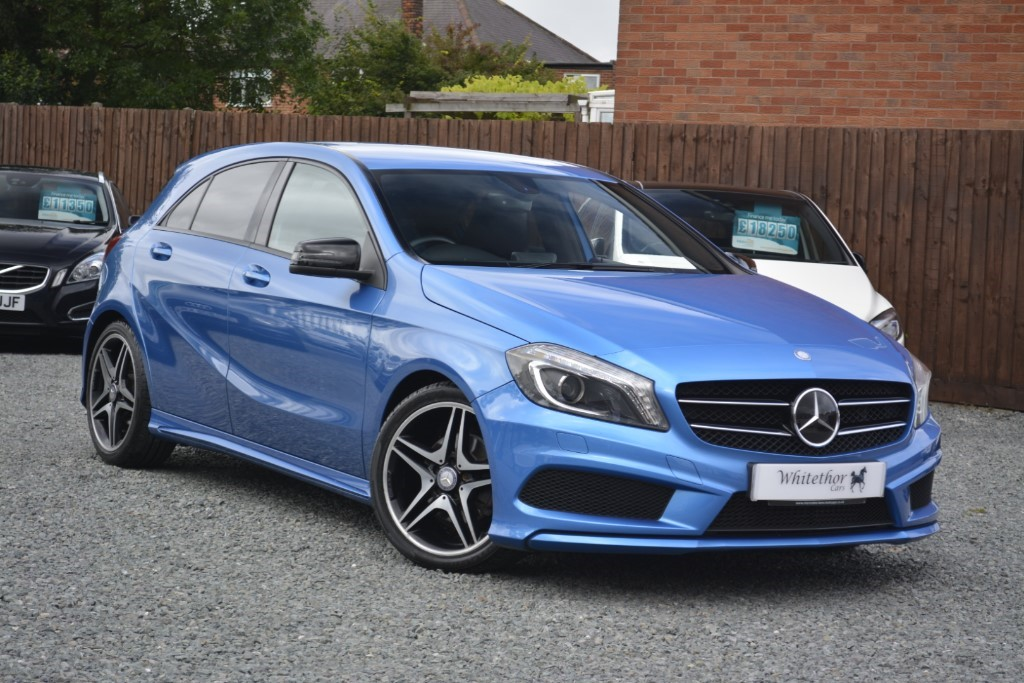 used Mercedes A200 CDI BLUEEFFICIENCY AMG SPORT in leicestershire