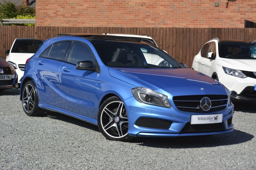 used Mercedes A220 CDI BLUEEFFICIENCY AMG SPORT in leicestershire