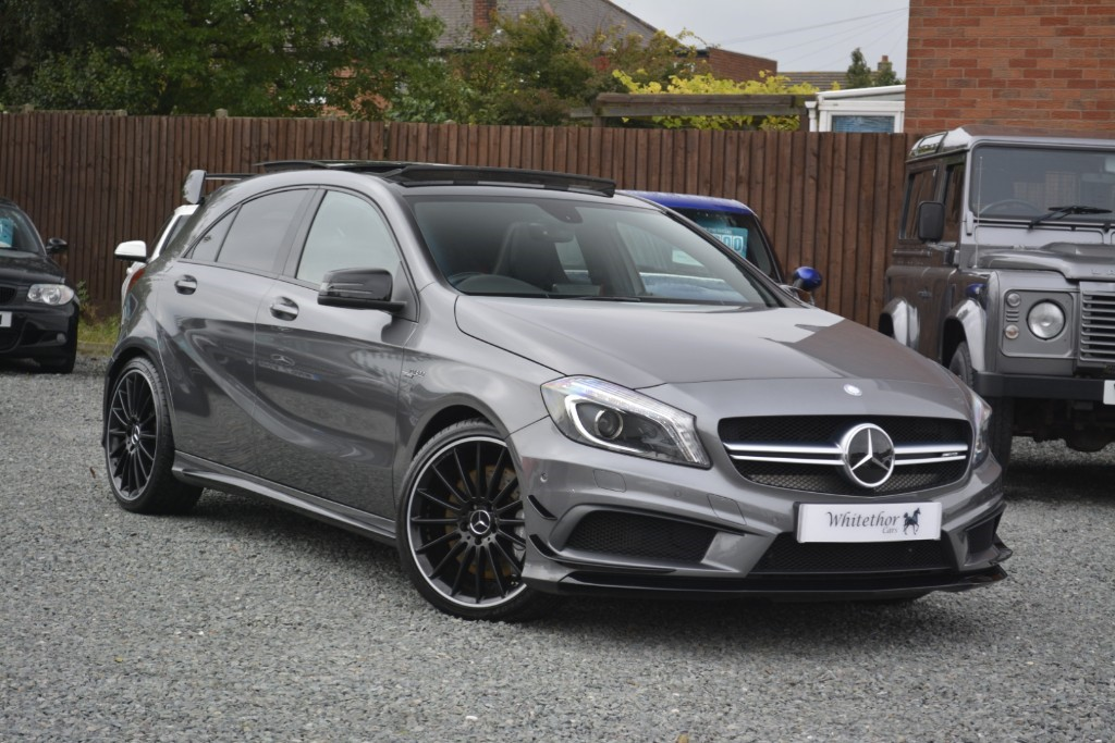 used Mercedes A45 AMG 4MATIC in leicestershire