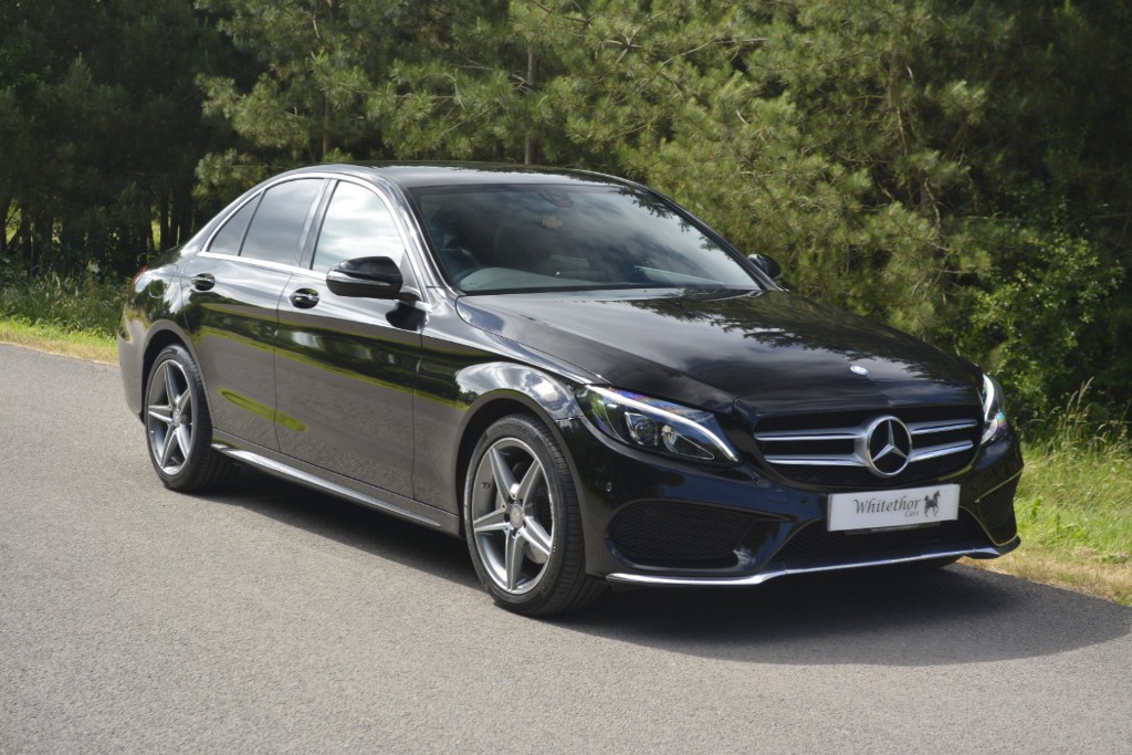 used Mercedes C200 AMG LINE in leicestershire