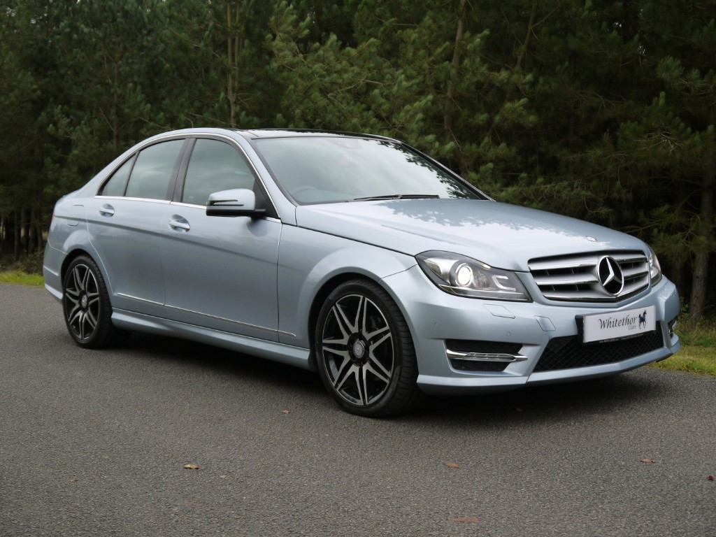 used Mercedes C220 C220 CDI BLUEEFFICIENCY AMG SPORT PLUS in leicestershire