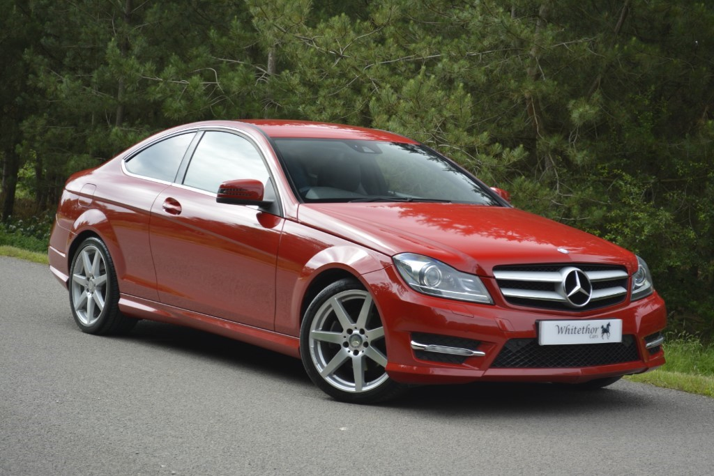 used Mercedes C250 CDI BLUEEFFICIENCY AMG SPORT in leicestershire
