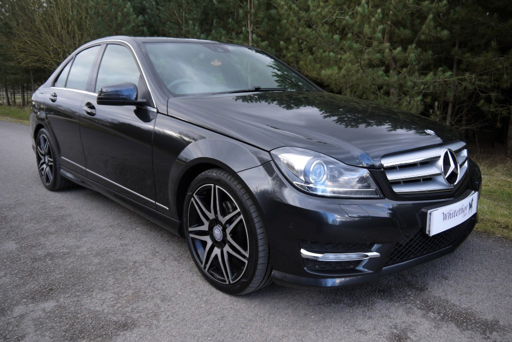 used Mercedes C250 CDI BLUEEFFICIENCY AMG SPORT PLUS in leicestershire