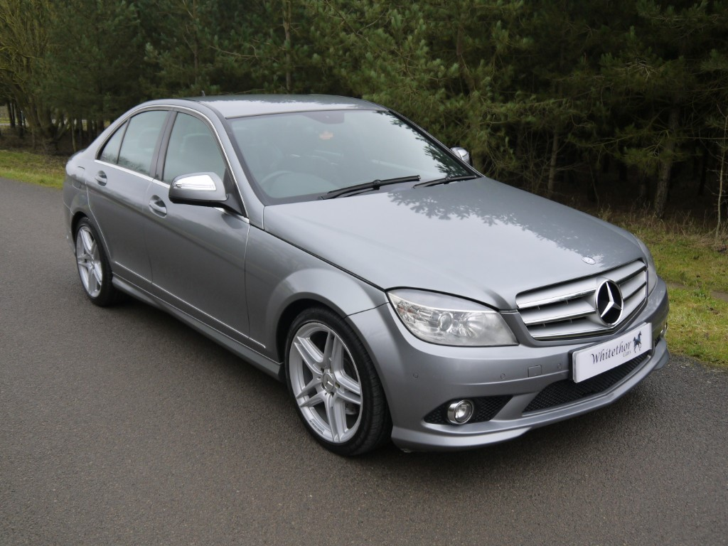 used Mercedes C320 CDI SPORT in leicestershire