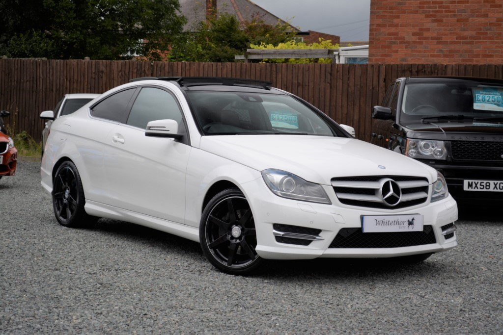 used Mercedes C350 BLUEEFFICIENCY AMG SPORT PLUS in leicestershire