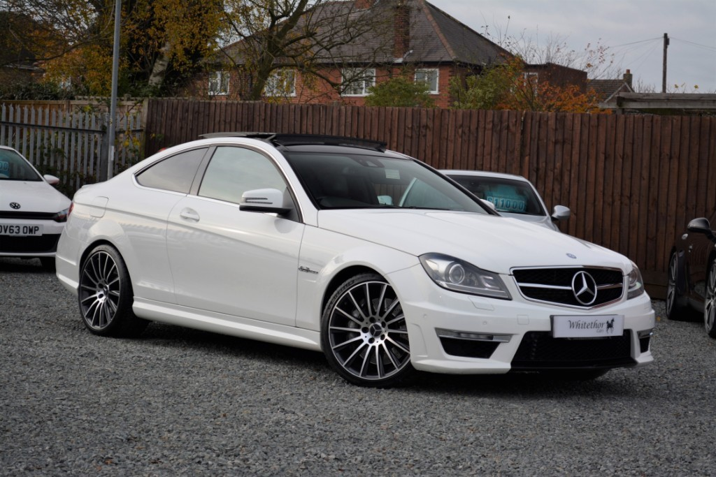 used Mercedes C63 AMG in leicestershire