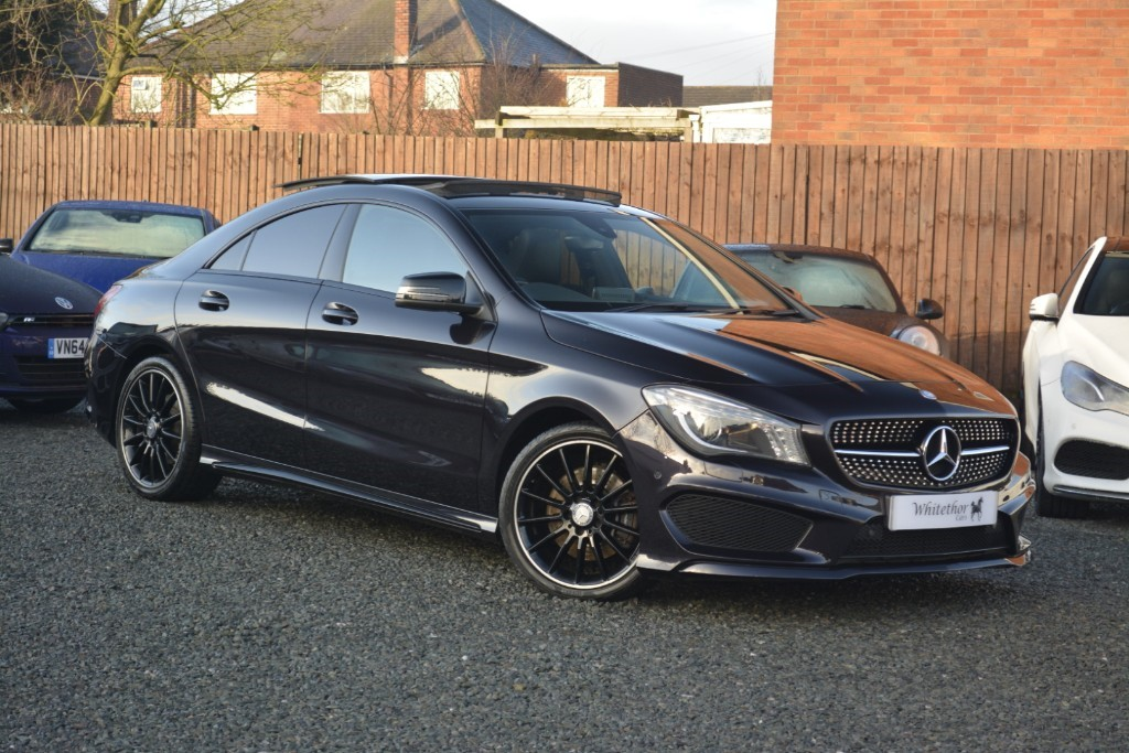 used Mercedes CLA 220 CDI AMG SPORT in leicestershire