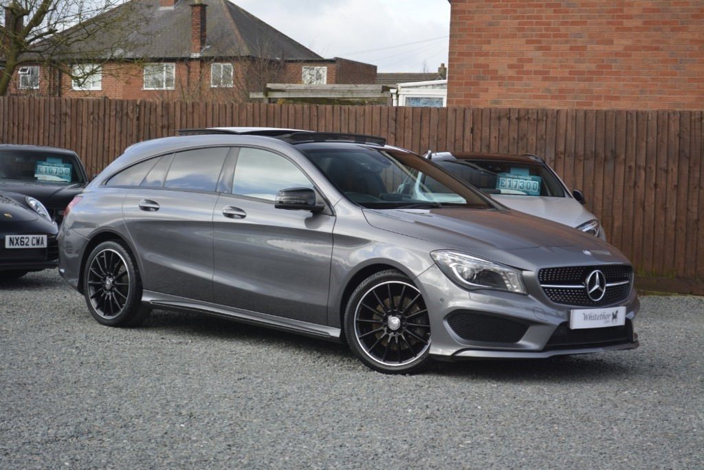 used Mercedes CLA 220 D AMG SPORT in leicestershire