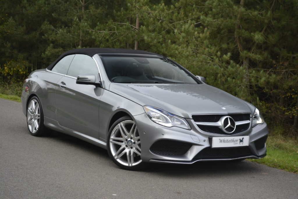 used Mercedes E220 CDI AMG SPORT in leicestershire