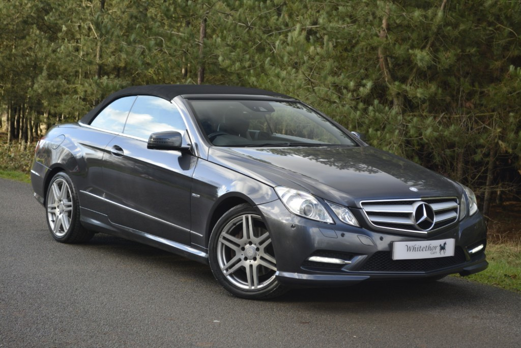used Mercedes E250 CDI BLUEEFFICIENCY SPORT in leicestershire