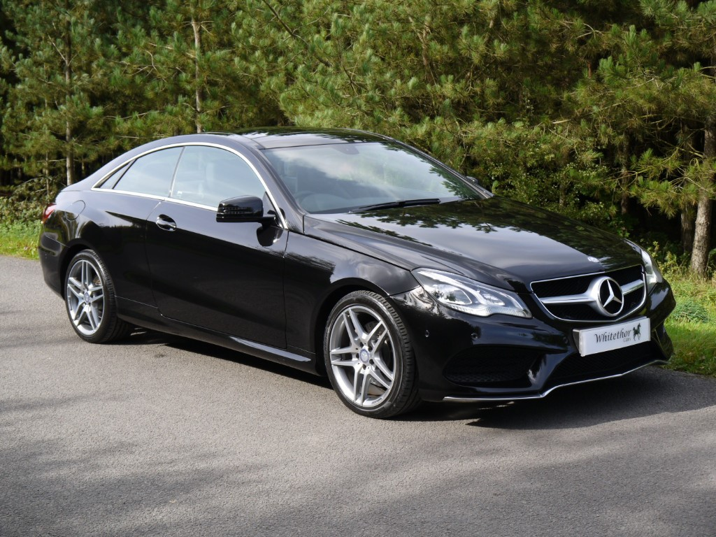 used Mercedes E250 CDI AMG SPORT in leicestershire