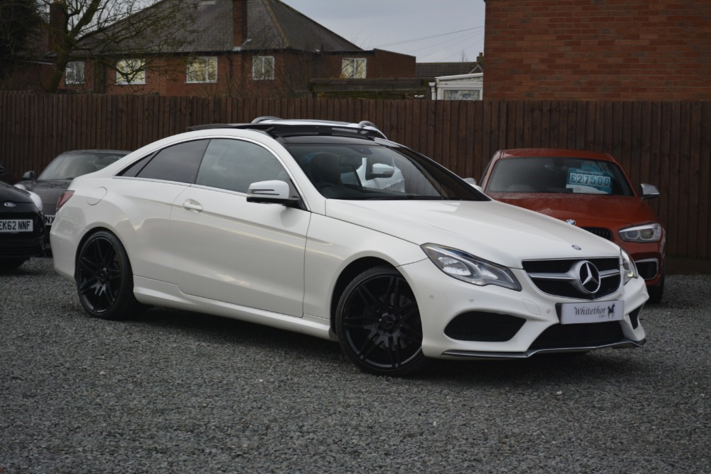 used Mercedes E350 BLUETEC AMG SPORT in leicestershire