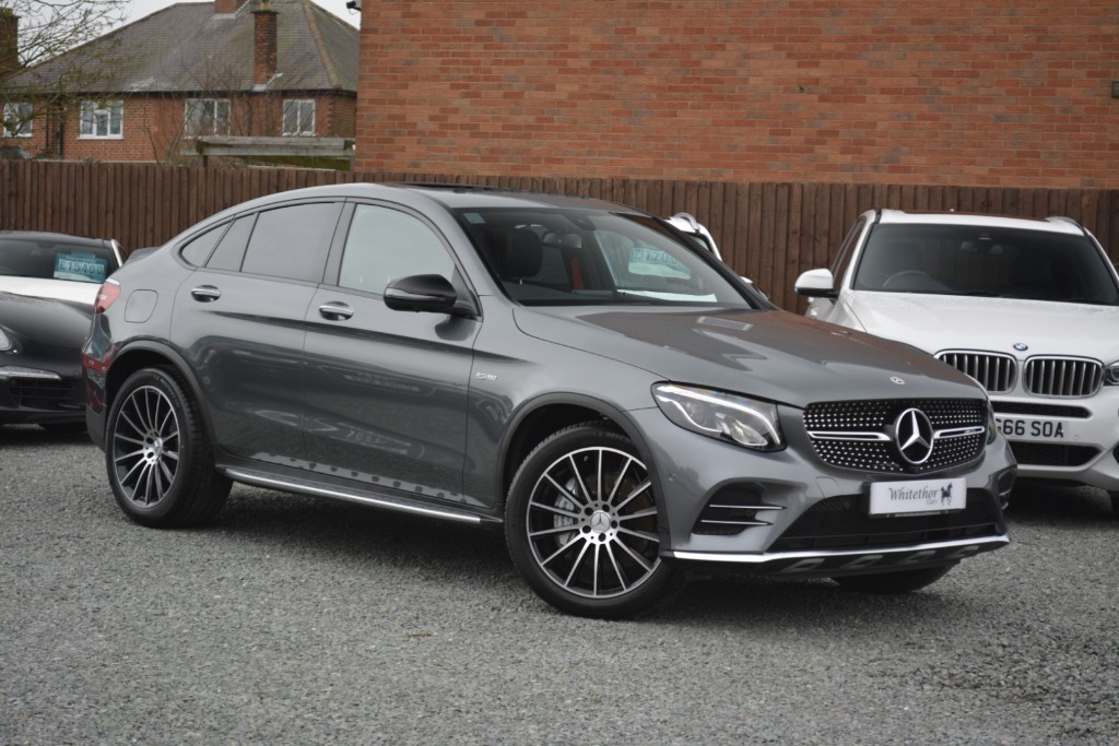used Mercedes GLC43 AMG 4MATIC PREMIUM in leicestershire
