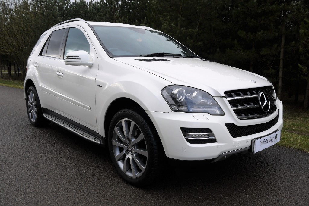 used Mercedes ML350 CDI BLUEEFFICIENCY GRAND EDITION in leicestershire