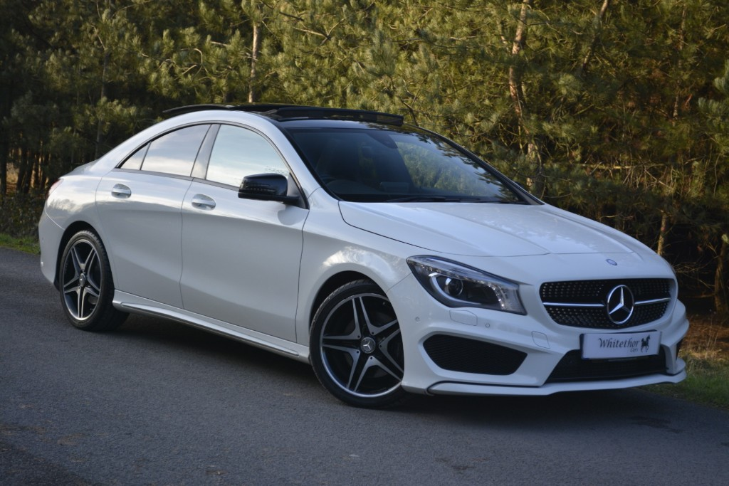used Mercedes  CLA220 CDI AMG SPORT in leicestershire