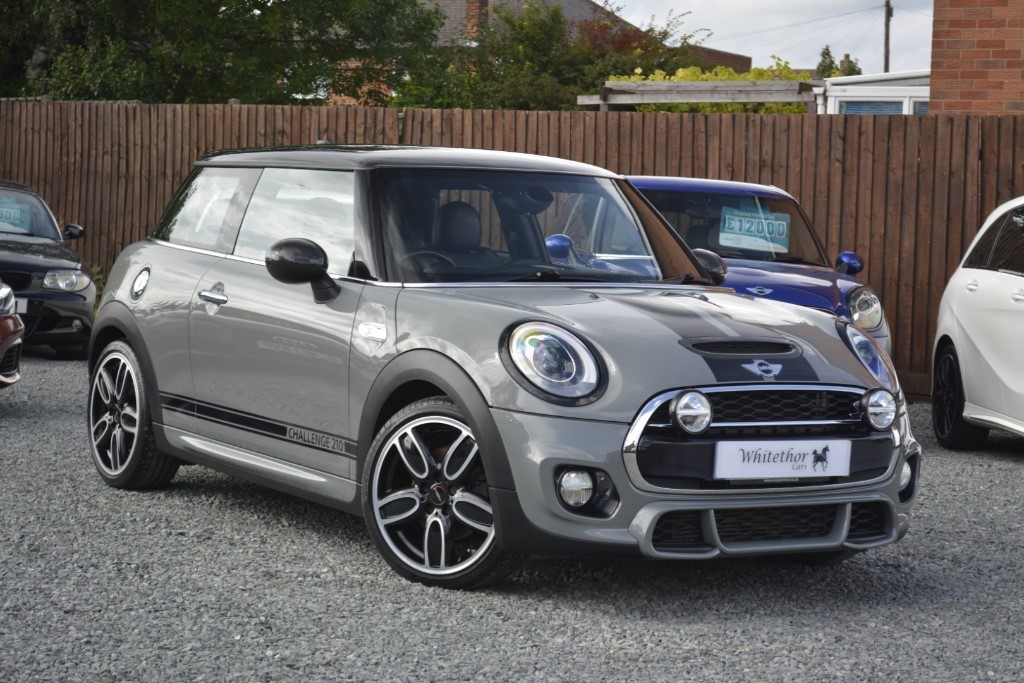 used MINI John Cooper Works CHALLENGE 210 EDITION in leicestershire