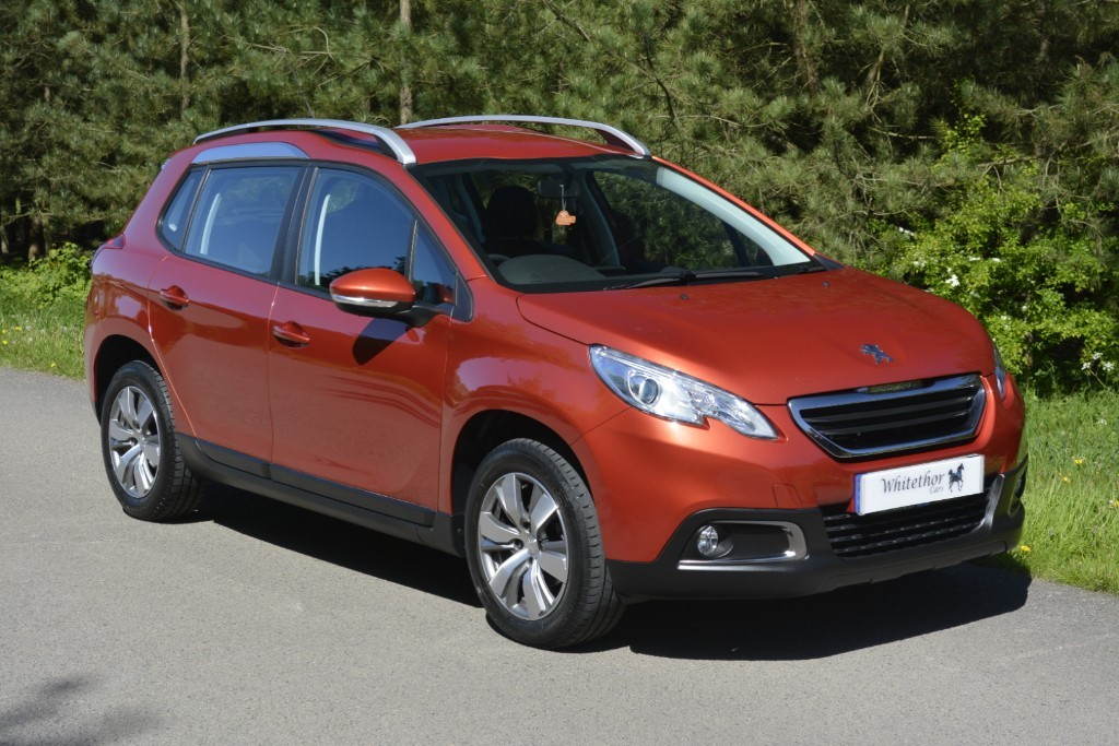 used Peugeot 2008 BLUE HDI ACTIVE in leicestershire