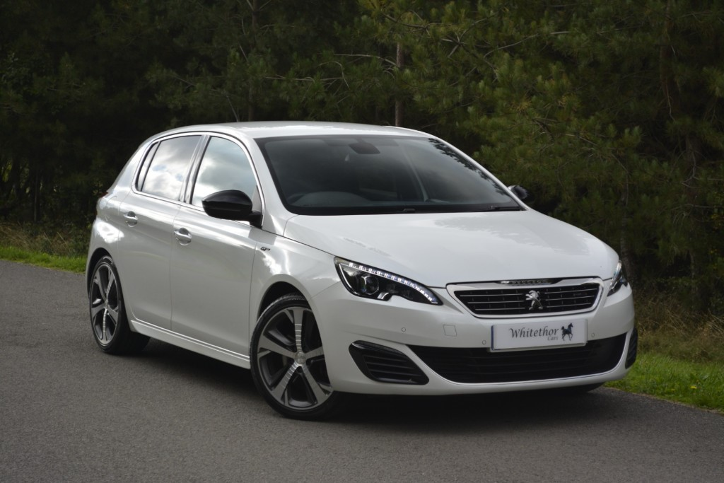 used Peugeot 308 BLUE HDI S/S GT in leicestershire