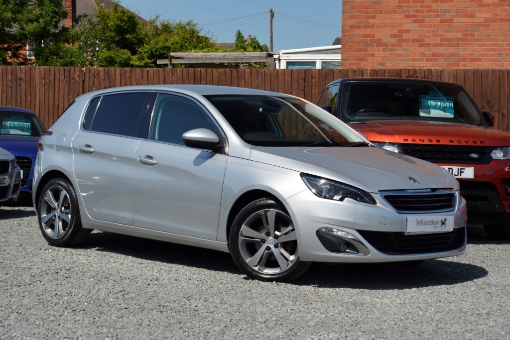 used Peugeot 308 E-HDI ALLURE in leicestershire