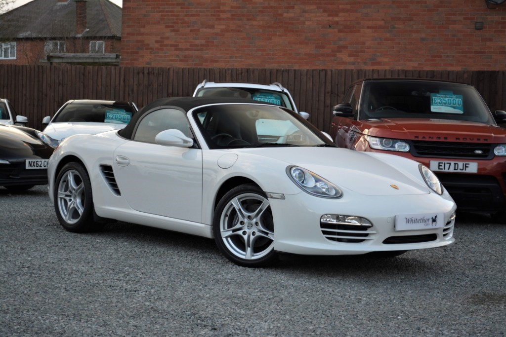 used Porsche Boxster 24V in leicestershire