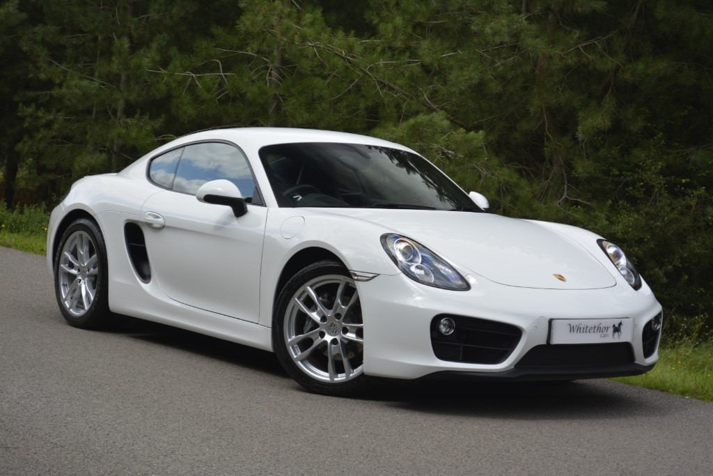 used Porsche Cayman 24V PDK in leicestershire