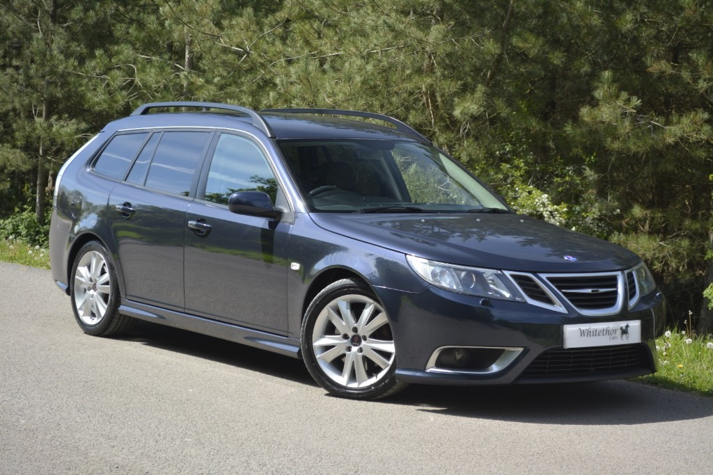 used Saab 9-3 AERO V6 in leicestershire