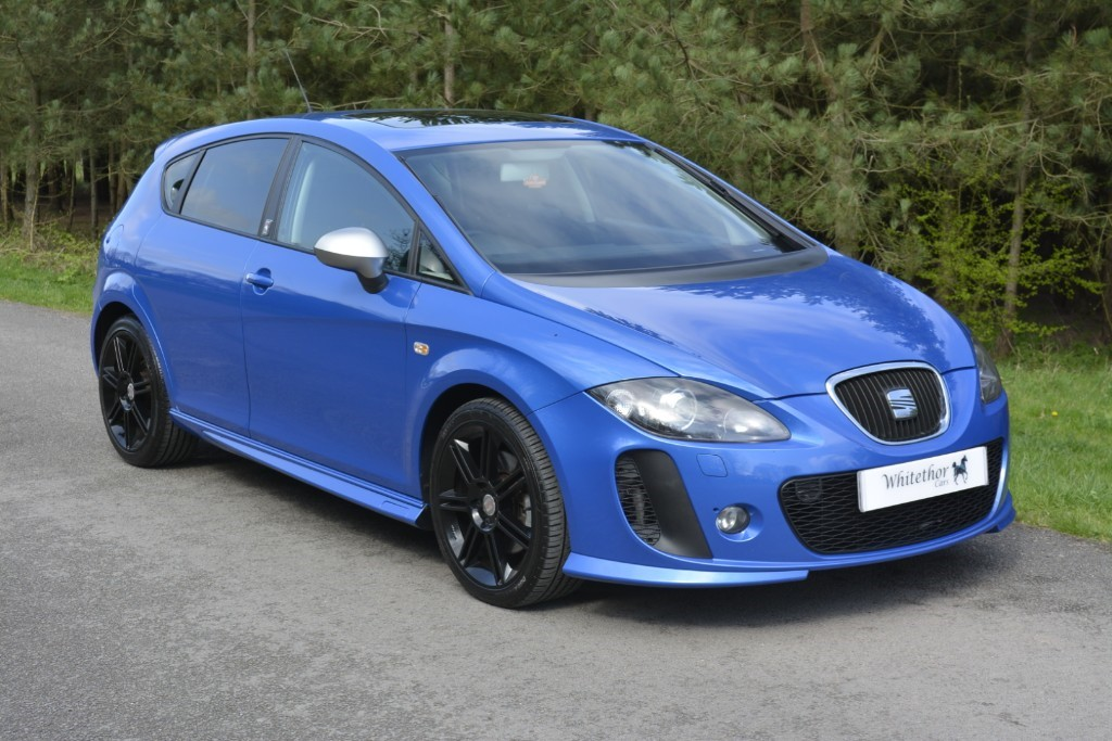 used SEAT Leon TDI CR FR PLUS SUPERCOPA in leicestershire