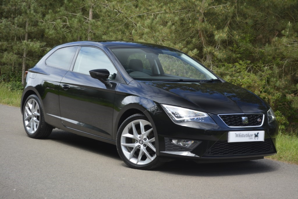 used SEAT Leon ECOTSI FR TECHNOLOGY DSG in leicestershire