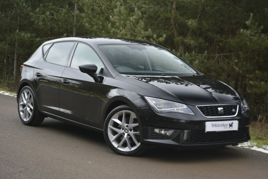 used SEAT Leon TDI FR TECHNOLOGY DSG in leicestershire
