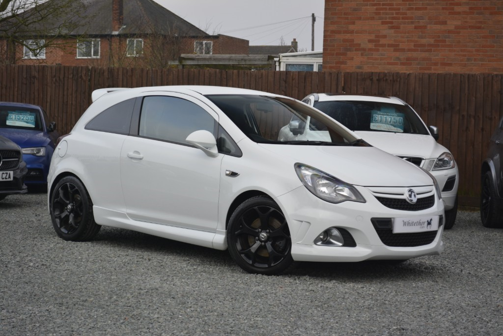 used Vauxhall Corsa VXR in leicestershire