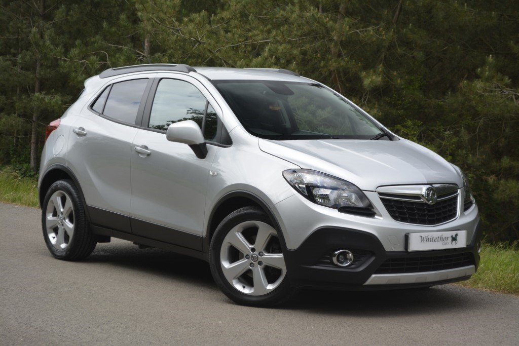 used Vauxhall Mokka EXCLUSIV S/S in leicestershire