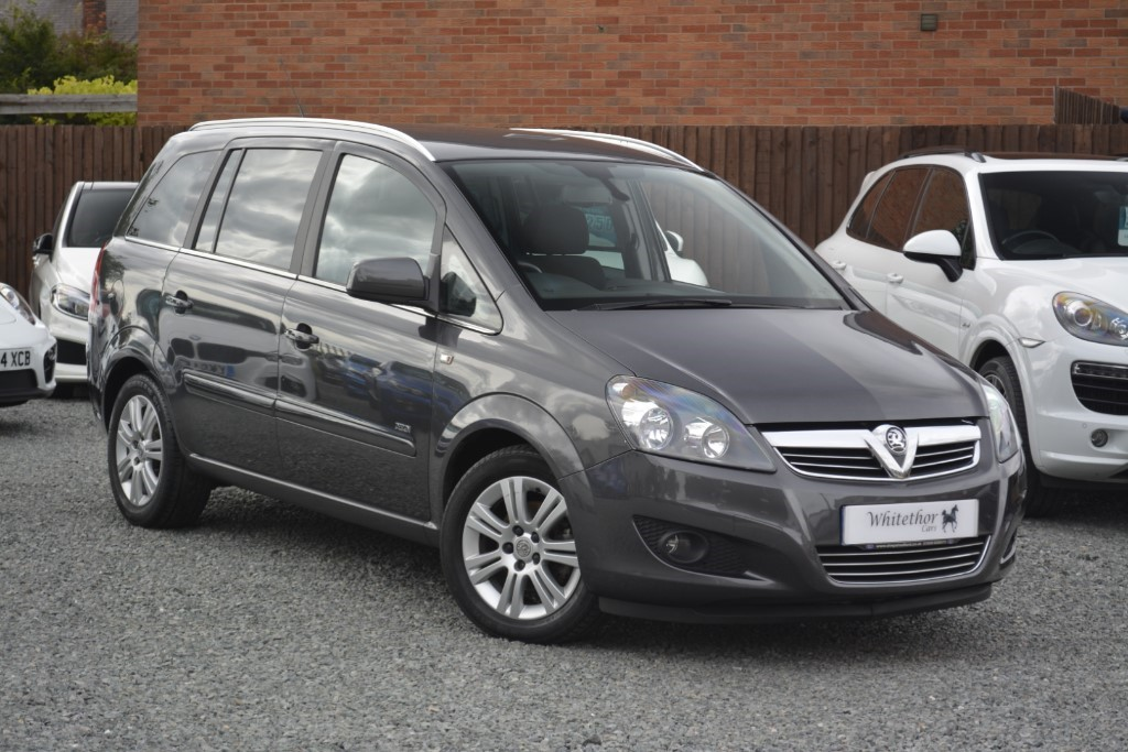 used Vauxhall Zafira DESIGN in leicestershire