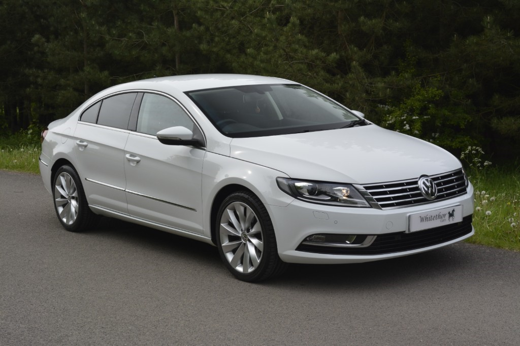 used VW CC GT TDI BLUEMOTION TECHNOLOGY DSG in leicestershire