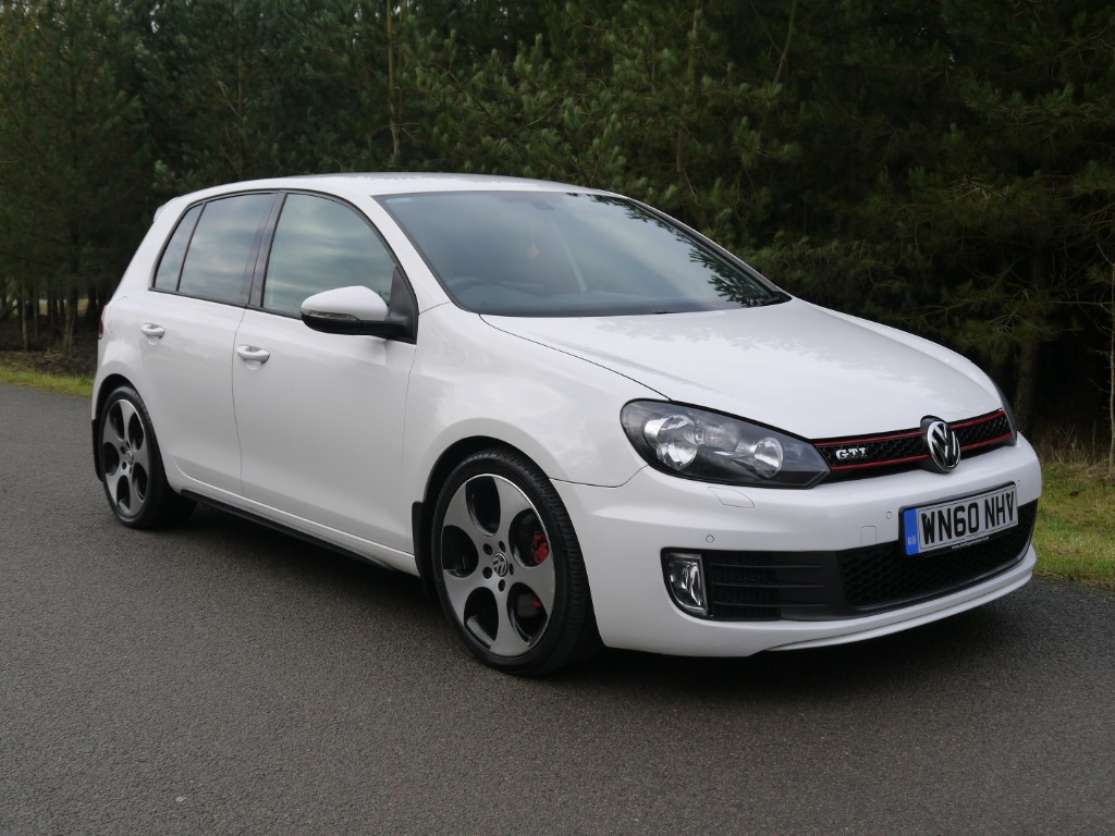 used VW Golf GTI DSG in leicestershire