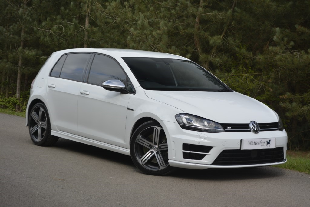 used VW Golf R DSG in leicestershire