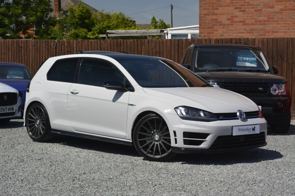 used VW Golf R in leicestershire