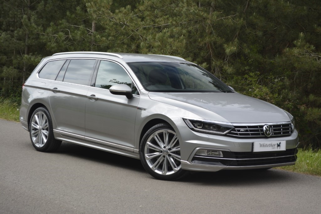 used VW Passat R LINE TDI BLUEMOTION TECH 4MOTION DSG in leicestershire