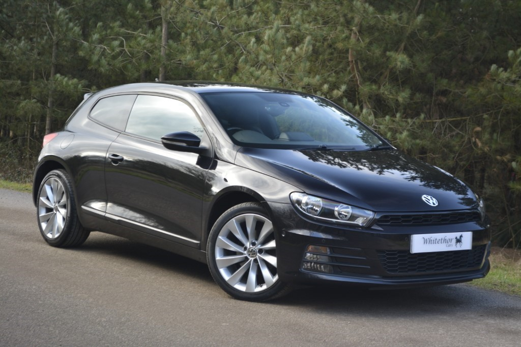 used VW Scirocco GT TDI BLUEMOTION TECHNOLOGY in leicestershire