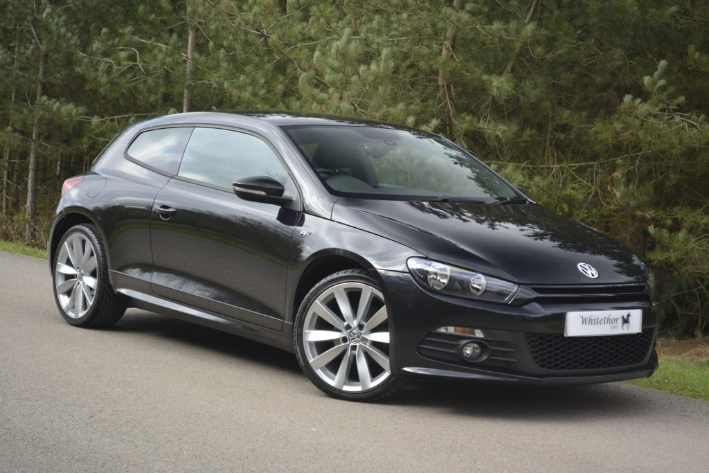 used VW Scirocco R LINE TDI BLUEMOTION TECHNOLOGY in leicestershire