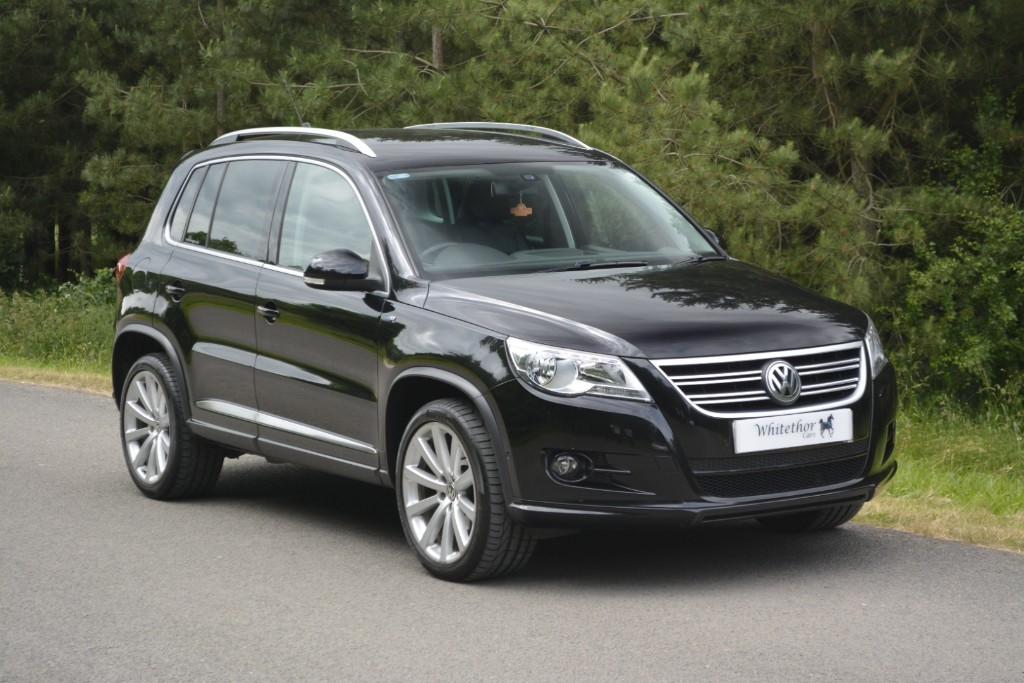 used VW Tiguan R LINE TDI 4MOTION in leicestershire