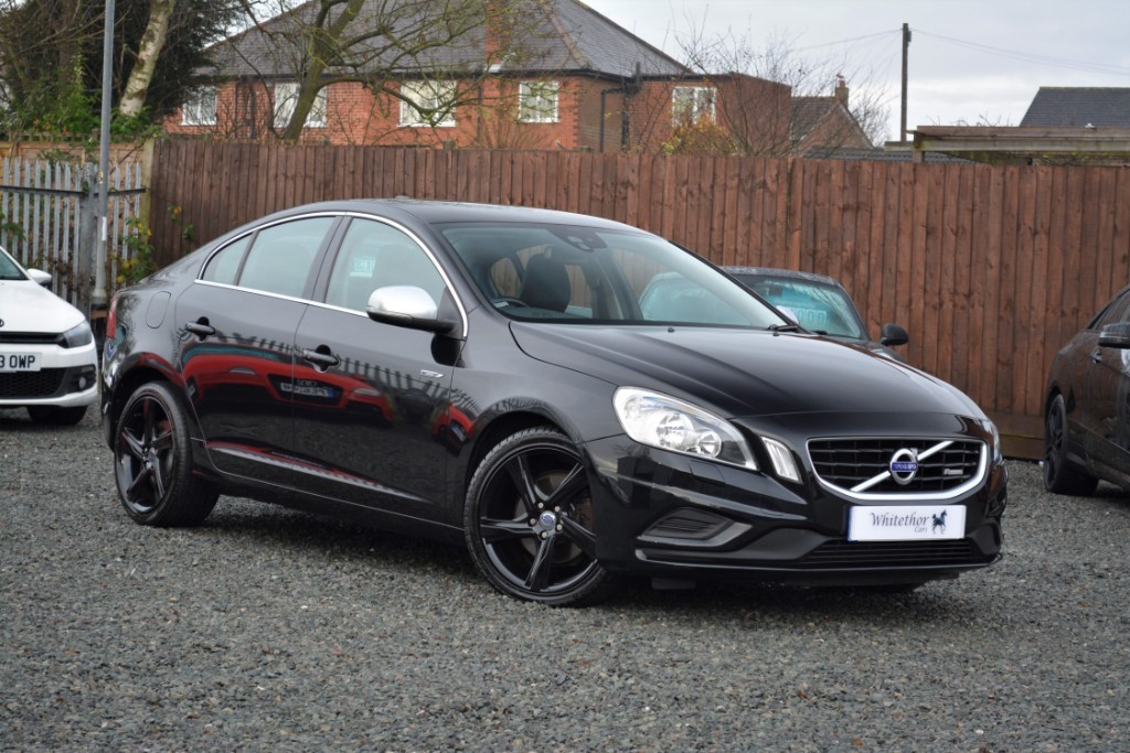 used Volvo S60 D3 R-DESIGN in leicestershire