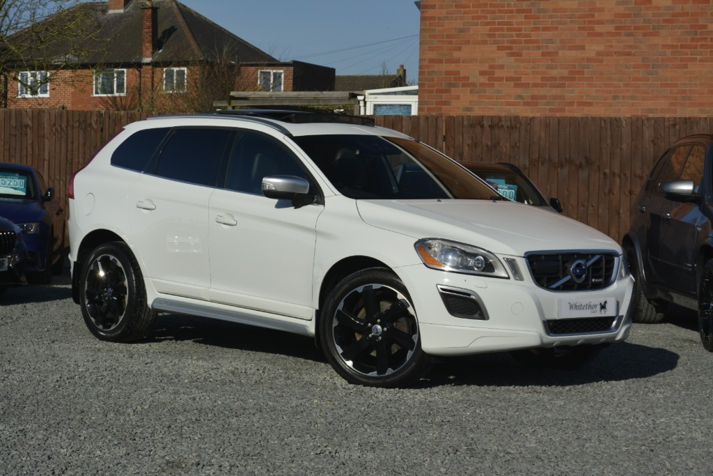 used Volvo XC60 D5 R-DESIGN AWD in leicestershire